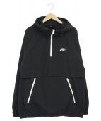 NIKE(ナイキ)の古着「フーデッドウーブンアノラックジャケット」|ブラック