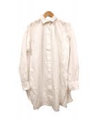 Deuxieme Classe(ドゥーズィエムクラス)の古着「コットンピケBIGシャツ」 ホワイト