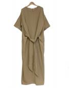Johnbull(ジョンブル)の古着「サマードレス」|ベージュ