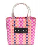 MARNI(マルニ)の古着「ピクニックバッグ」|ピンク