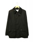 Barbour(バブアー)の古着「ピーチスキンビデイルジャケット」|ブラック