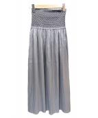toteme(トーテム)の古着「SAFARAハイウエストスカート」|グレー