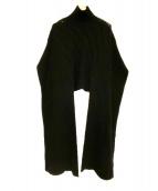 AKIRA NAKA(アキラ ナカ)の古着「ニット」|ブラック