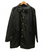 GRENFELL(グレンフェル)の古着「ステンカラーコート」|ブラック