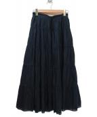 MACKINTOSH PHILOSOPHY(マッキントッシュフィロソフィー)の古着「スカート」|ネイビー