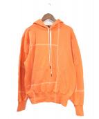 Liam Hodges(リアムホッジス)の古着「プルオーバーパーカー」|オレンジ