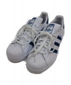 adidas(アディダス)の古着「スニーカー」|ホワイト×ネイビー