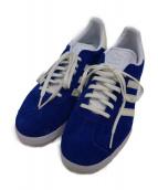 adidas(アディダス)の古着「ローカットスニーカー」|ブルー×ホワイト