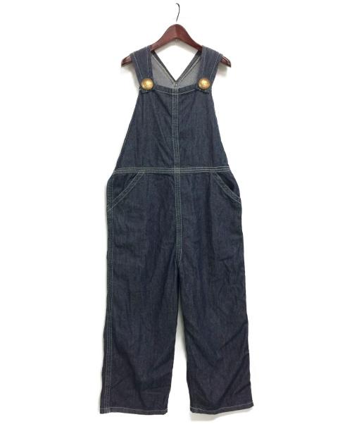 LEE(リー)LEE (リー) デニムオーバーオール インディゴ サイズ:XLの古着・服飾アイテム