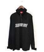 Supreme(シュプリーム)の古着「Track Half Zip Pullover」|ブラック
