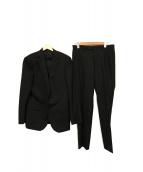 green label relaxing(グリーンレーベルリラクシング)の古着「シルク混セットアップスーツ」|ブラック