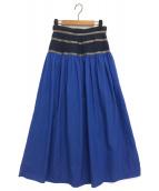 KOLOR(カラー)の古着「スカート」|ブルー
