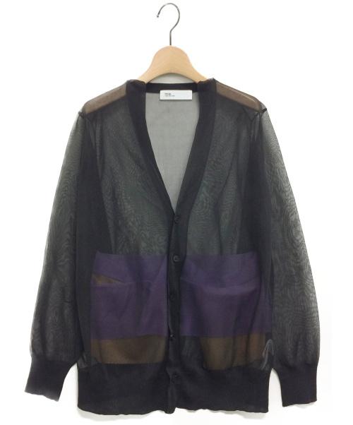 TOGA(トーガ)TOGA (トーガ) カーディガン ブラック サイズ:36の古着・服飾アイテム