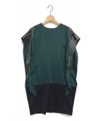 TOGA PULLA(トーガプルラ)の古着「ワンピース」|グリーン