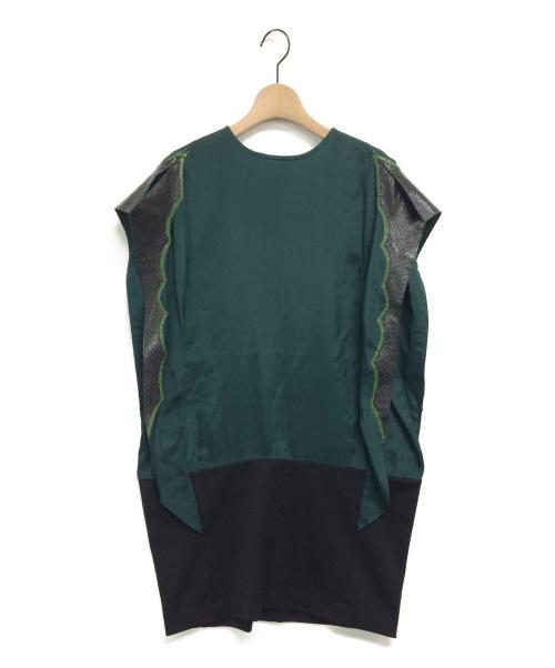 TOGA PULLA(トーガプルラ)TOGA PULLA (トーガプルラ) ワンピース グリーン サイズ:1の古着・服飾アイテム
