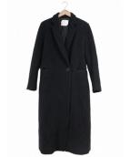 mame kurogouchi(マメ クロゴウチ)の古着「チェスターコート」|ブラック