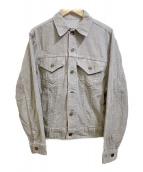LEVIS(リーバイス)の古着「【古着】80s 3rdタイプ コーデュロイジャケット」|グレー
