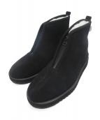 suicoke(スイコック)の古着「ムートンジップブーツ」|ブラック