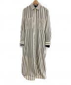 RITO(リト)の古着「20A/W ダブルレイヤードロングシャツ」 アイボリー
