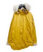 QUARTZ(クオーツ)の古着「ファー付コート」|サンフラワー