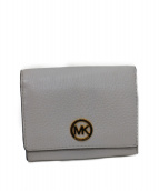MICHAEL KORS(マイケルコース)の古着「2つ折り財布」|ホワイト