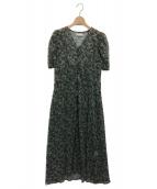 CELFORD(セルフォード)の古着「小花柄プリントワンピース」|ブラック