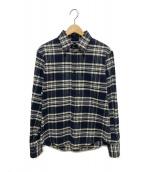 DSQUARED2(ディースクエアード)の古着「チェックネルシャツ」|グレー×ブラック