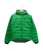 CANADA GOOSE(カナダグース)の古着「ダウンジャケット」|黄緑