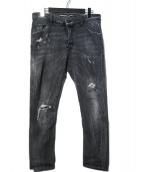 DSQUARED2(ディースクエアード)の古着「CLASSIC KENNY TWIST JEAN デニ」|ブラック