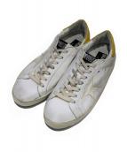 GOLDEN GOOSE(ゴールデングース)の古着「レザースニーカー」|ホワイト