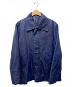 CARVEN(カルヴェン)の古着「デニムコーチジャケット」
