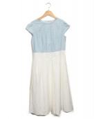TOCCA(トッカ)の古着「POLKAドレス」|ブルー
