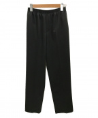 CellarDoor(セラードアー)の古着「ドレープイージーパンツ」|ブラック