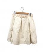 MAX&Co.()の古着「ジャガードミディスカート」 ベージュ