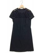 ESCADA(エスカーダ)の古着「ワンピース」|ブラック