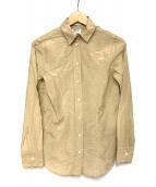 MADISON BLUE(マディソンブルー)の古着「リネン混シャツ」|ベージュ