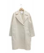 ESTNATION(エストネーション)の古着「コットングログランコクーンコート」|アイボリー