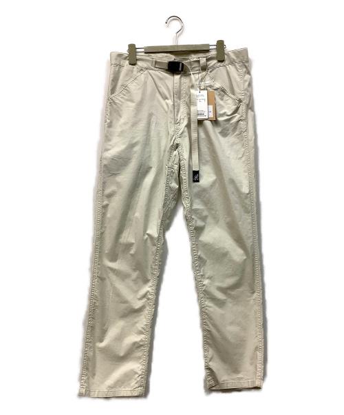 GRAMICCI(グラミチ)GRAMICCI (グラミチ) ウェザーストレッチトラウザー アイボリー サイズ:L 未使用品の古着・服飾アイテム
