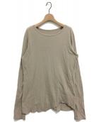 Deuxieme Classe(ドゥーズィエムクラス)の古着「Layering Tシャツ」 ベージュ
