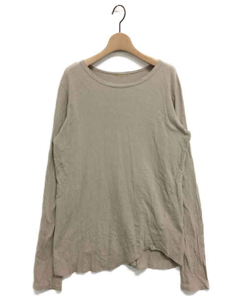 DEUXIEME CLASSE(ドゥーズィエム クラス)Deuxieme Classe (ドゥーズィエムクラス) Layering Tシャツ ベージュ サイズ:表記なしの古着・服飾アイテム
