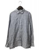 Deuxieme Classe(ドゥーズィエムクラス)の古着「リネンシャツ」|ネイビー