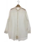 Noble(ノーブル)の古着「コットンローンシャツ」|ホワイト