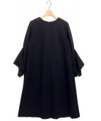 ADORE(アドーア)の古着「ウールスムースワンピース」|ブラック