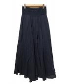 Pheeta(フィータ)の古着「フレアスカート」|ネイビー