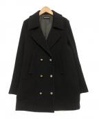 SONIA RYKIEL(ソニア リキエル)の古着「ウールコート」|ブラック