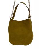 TILA MARCH(ティラマーチ)の古着「スウェードショルダーバッグ」|キャメル
