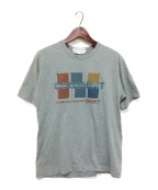 COMME des GARCONS SHIRT(コムデギャルソンシャツ)の古着「ロゴプリントTシャツ」|グレー