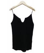 jonnlynx(ジョンリンクス)の古着「キャミソール」|ブラック