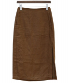 AURALEE(オーラリー)の古着「スカート」|ブラウン