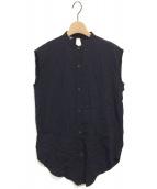 HELMUT LANG(ヘルムートラング)の古着「ノースリーブシャツ」|ブラック